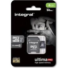 Флешка INTEGRAL Card 8GB MicroSDHC UHS-I...