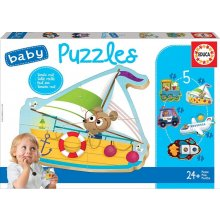 Educa Baby Puzzles Vehicles 2
