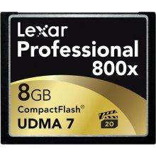 Mälukaart Lexar CF Card 8GB 800x...