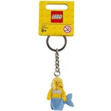 LEGO Keychain Mermaid