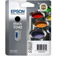 Тонер Epson INK CARTRIDGE чёрный T040