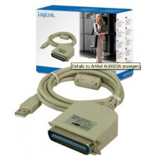DIGITUS Logilink USB 2.0 to paralel (LPT)...