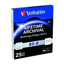 Toorikud Verbatim M-ketas 25GB 3pcs BD-R 4x...