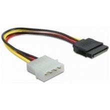 Delock SATA HDD Strom Adapterkabel 12cm