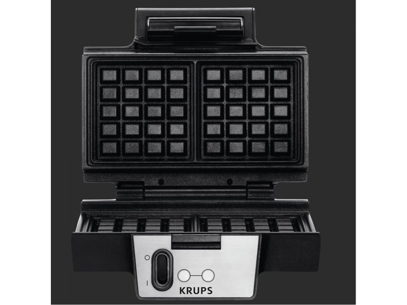 krups fdk251 waffelautomat edelstahl must. Black Bedroom Furniture Sets. Home Design Ideas
