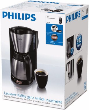 114ef847964 Philips Daily Collection Coffee maker HD7546 20 With black   metal - OX.ee