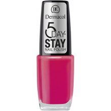 Dermacol 5 Day Stay Nail Polish 8, Cosmetic...
