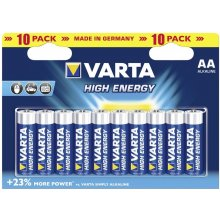 VARTA 1x10 High Energy Mignon AA LR 6