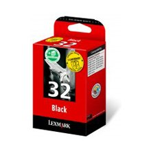 Тонер Lexmark Nr.32 Doppelpack чёрный