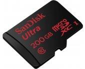 Mälukaart SanDisk Ultra microSDXC 200GB...