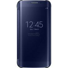Samsung Clear View Cove S6 Edge BLACK