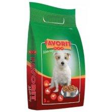 FAVORIT Food for dog small breeds 3 kg