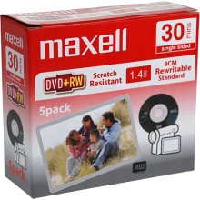 Toorikud Maxell DVD+RW 1,4GB 4x 30min Slim