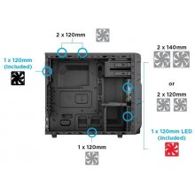 Корпус Corsair Carbide Series SPEC-03 Mid...