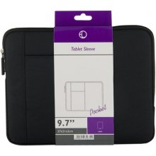 "4World Slim Pocket Tablet Case 9.7"" Black"
