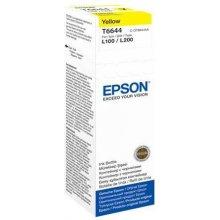 Тонер Epson чернила жёлтый T 664 70 ml T...