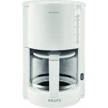 Кофеварка KRUPS F30901 ProAroma белый