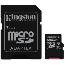 Флешка KINGSTON память card microSDXC 128GB...