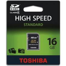 Mälukaart TOSHIBA SDHC Class 4 High Speed...