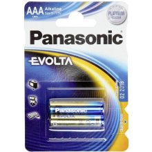 PANASONIC AAA, Alkaline, 2 pc(s)