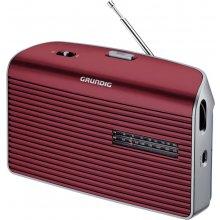 Raadio Grundig muusika 60 punane / hõbedane
