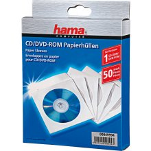 Диски Hama CD/DVD Paber конверты 50