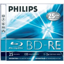Philips BD-RE 25GB 2X