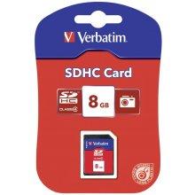 Mälukaart Verbatim SD Card 8GB SDHC Class 4...