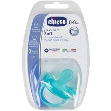 CHICCO Physio Soft soother blue 0m +