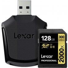 Mälukaart Lexar 128GB SDXC UHS-II 128 GB...