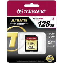 Mälukaart Transcend mälu card SDXC 128GB...