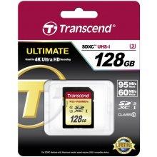 Флешка Transcend память card SDXC 128GB...