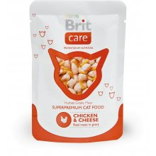 Brit Care cat Chicken & Cheese 80g