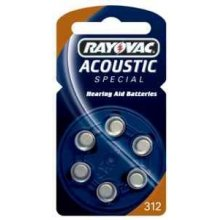 Rayovac Batterie ACOUSTIC SPECIAL 312 PR41...