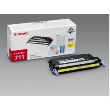 Tooner Canon 711 Toner kollane