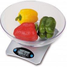 Кухонные весы OMEGA OBSKWS, серебристый