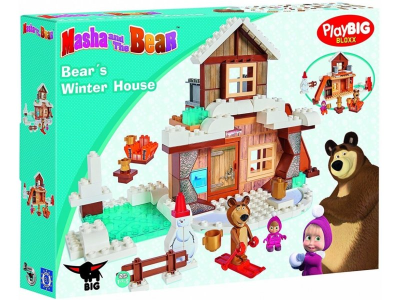 big bloxx masha winter house bear 800057100. Black Bedroom Furniture Sets. Home Design Ideas