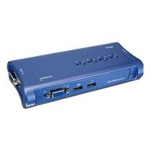TRENDNET KVM 4-Port USB Switch Kit