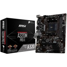 Emaplaat MSI MB A320M Pro-E (A320, AM4...