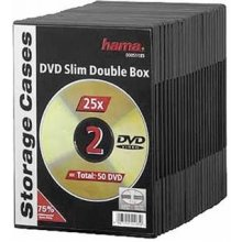 Диски Hama Slim DVD Double Jewel Case pack...
