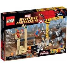 LEGO Super Heroes attack Rhino и Sandman