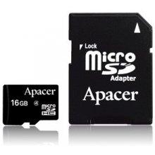 Mälukaart APACER mälu card Micro SDHC 16GB...