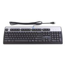 Клавиатура HP USB Standard Silverr/Black...