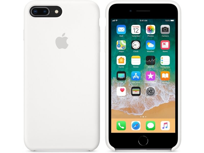 c6c42860fca Apple iPhone 8 Plus / 7 Plus Silicone ümbris valge MQGX2ZM/A - OX.ee