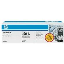 Тонер HP Toner CB 436 A чёрный 36 A
