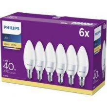 Philips LED 40W B35 E14 WW FR ND 6CT/6 ketas