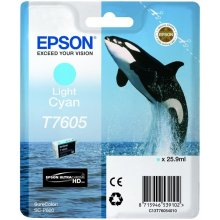 Тонер Epson T7605 чернила Cartridge, Light...