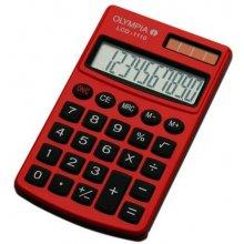 Kalkulaator Olympia LCD-1110 punane