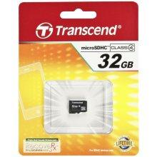 Флешка Transcend SD microSD Card 32GB SDHC...