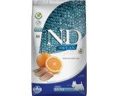 Farmina N&D Dog Mini Adult - fish & orange -...